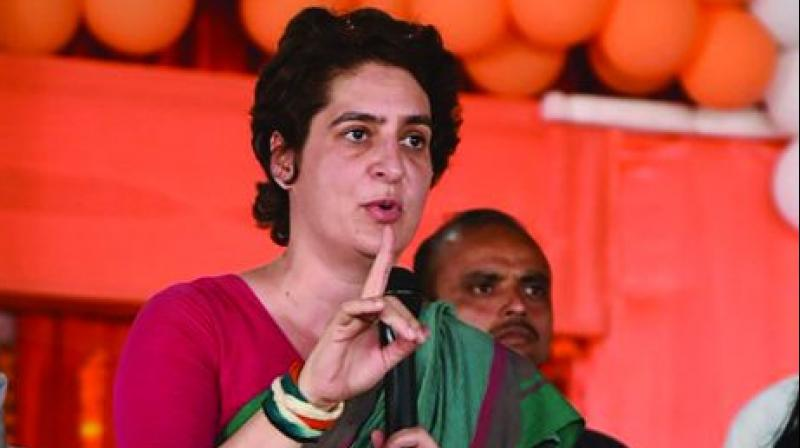 Priyanka Gandhi-PM Narendra Modi has just lied five years in Ayodhya