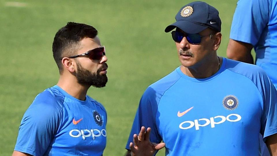 kohli wants shastri to become india's coach