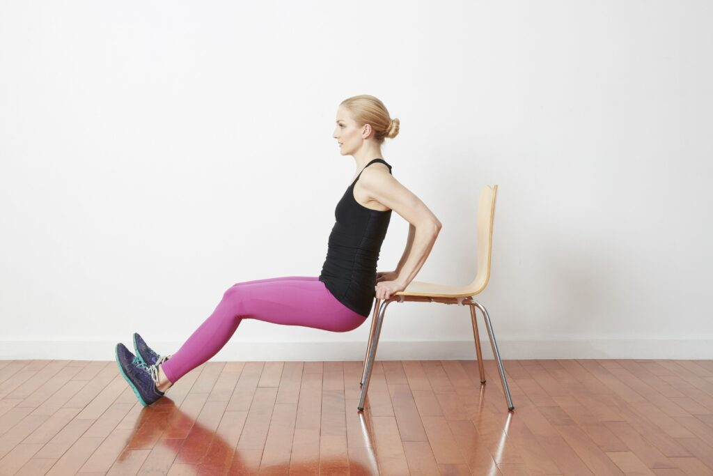 Home exercise without equipment